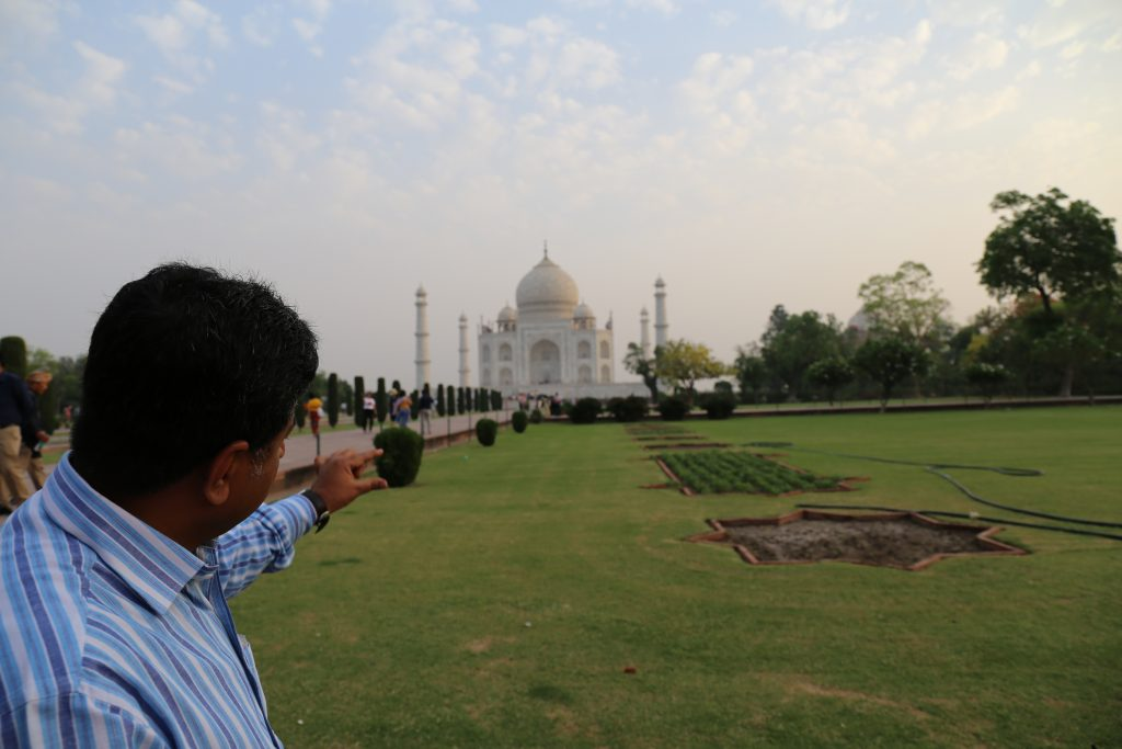 Guía acompañante en India