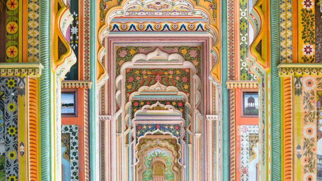 Los colores de Jawahar Circle en Jaipur