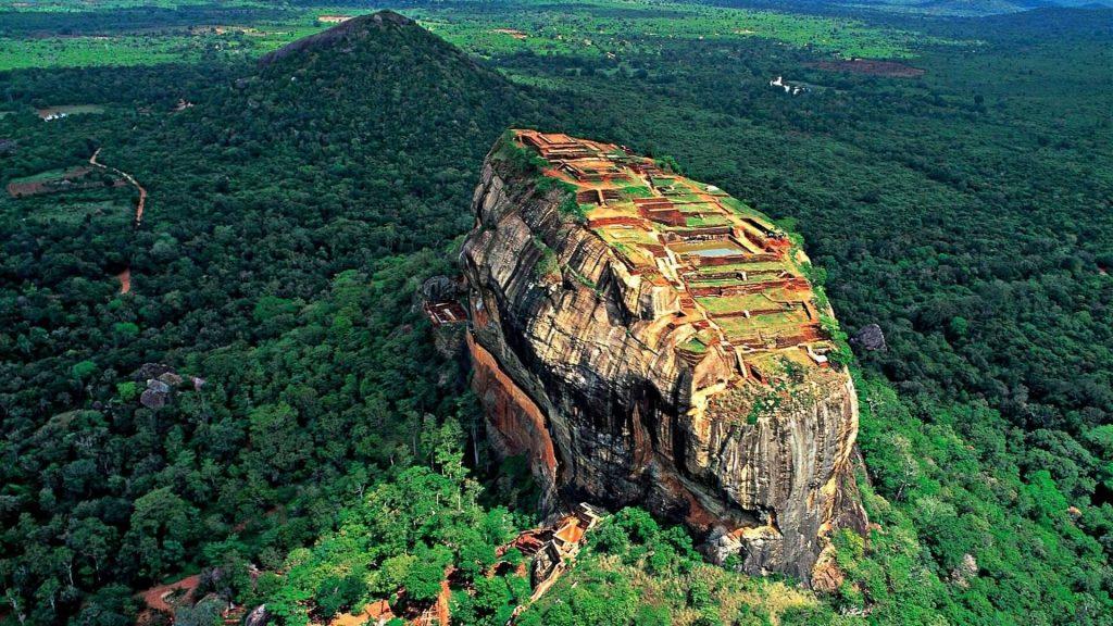 La Roca del León Sigiriya en Sri Lanka