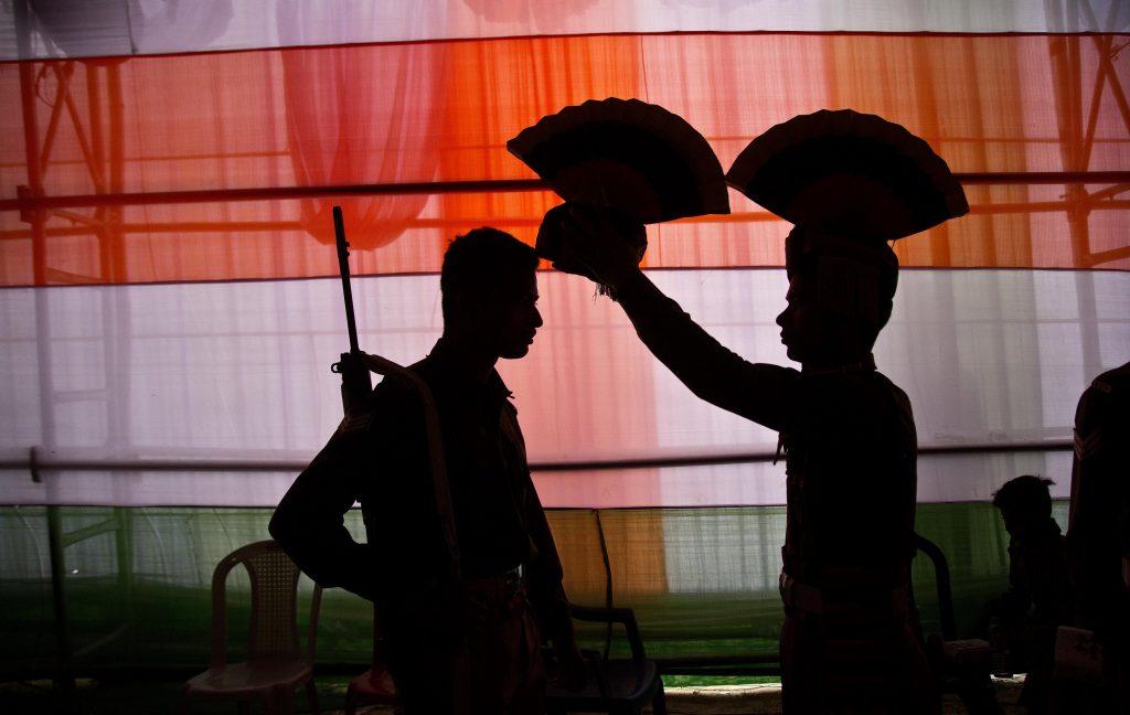 El Día de la Independencia en India es en el mes de agosto.