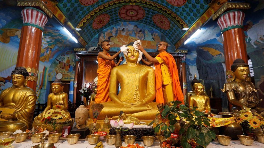 Fiesta del Nacimiento de Buda en Nepal