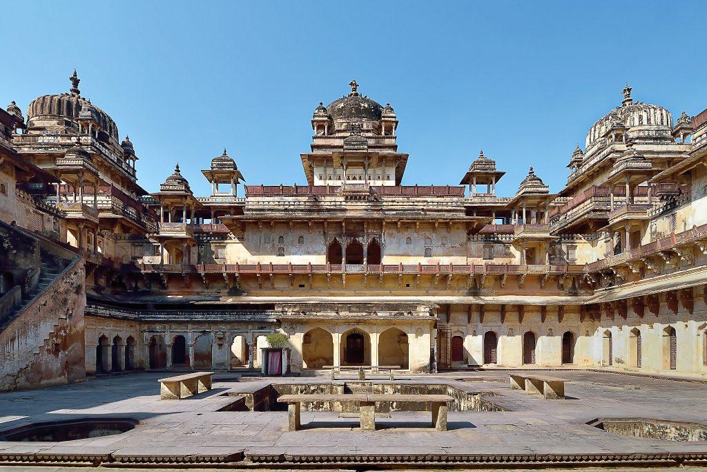 El complejo palaciego de Jahangir, gran atracción de Orchha