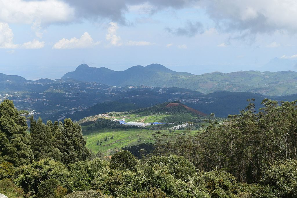 Viewpoint of the Nilgiris in Doddabetta