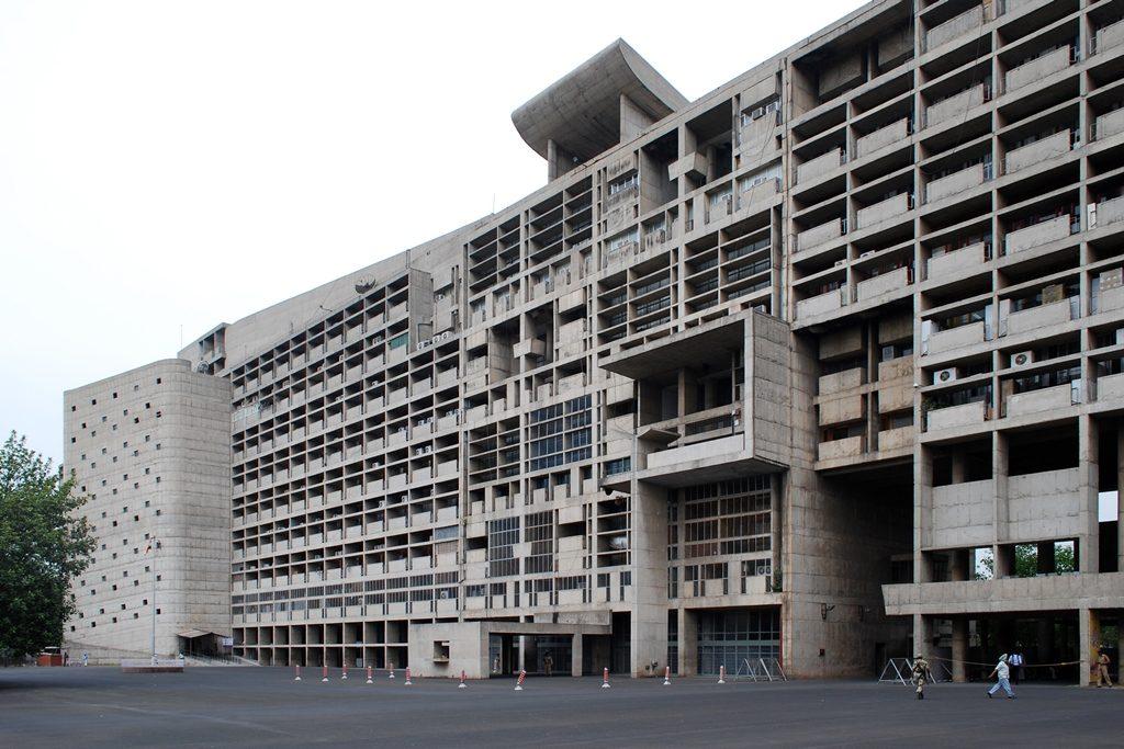 Le Corbusier, avant-garde architecture in Chandigarh