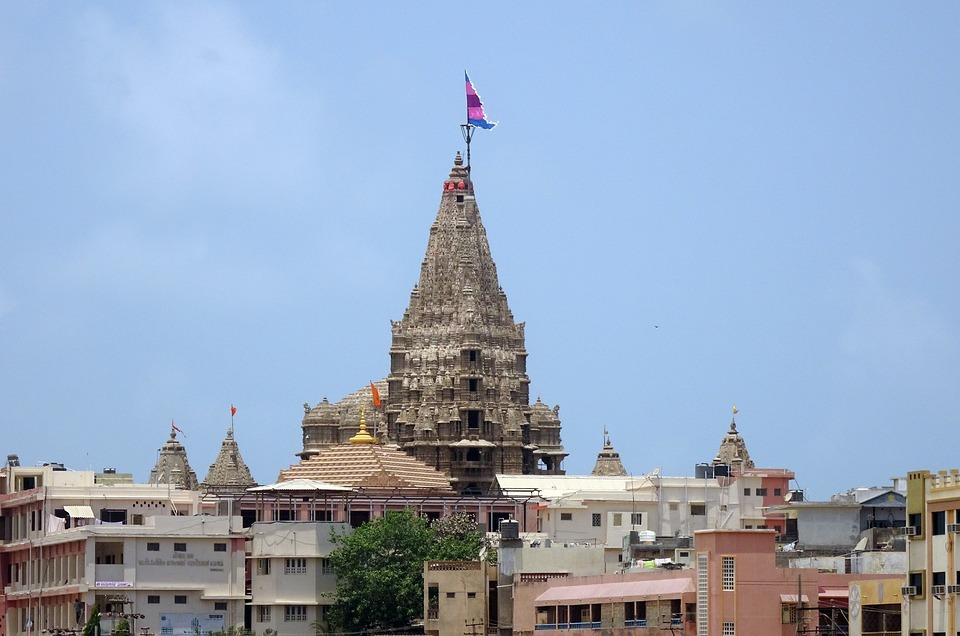 Templo de Dwarka en Gujarat