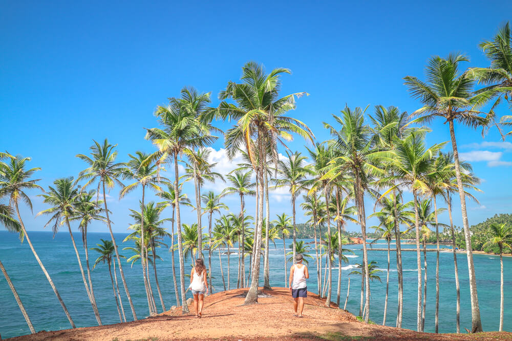 Coconut Tree Hill en Mirissa Sri Lanka