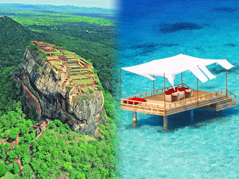 Viajes a Sri Lanka y Maldivas: Sirigiya y Piano Deck