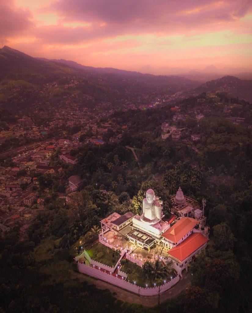 Bahirawakanda Temple templo y mirador de Kandy