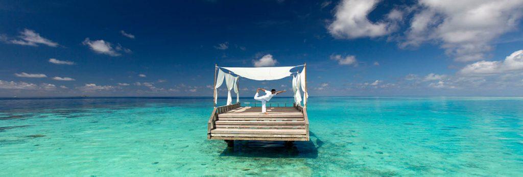 Yoga en Maldivas
