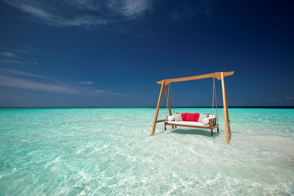 Columpia en el mejor resort romántico del océano Índico 2019 : Baros Maldives