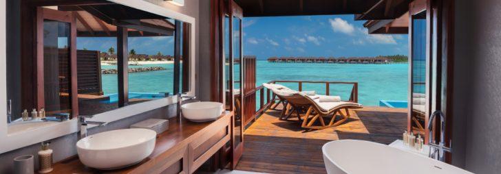 Interior Villa del resort Varu by Atmosphere (Maldivas)