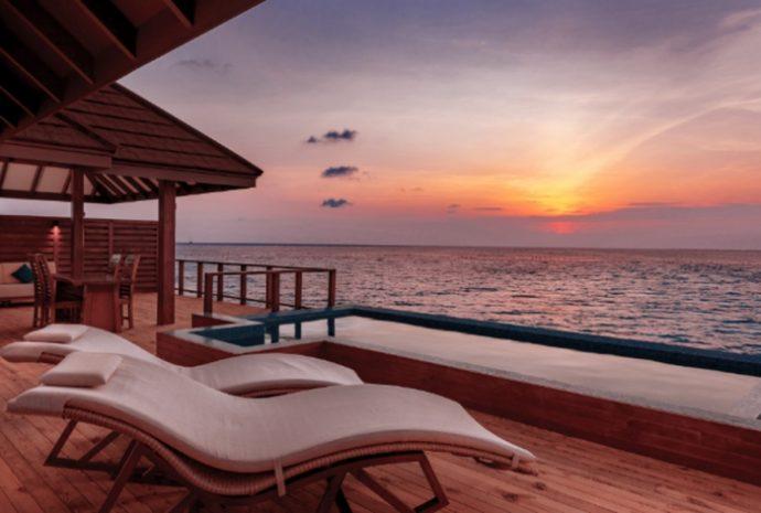 Atardecer en Varu (Maldivas)
