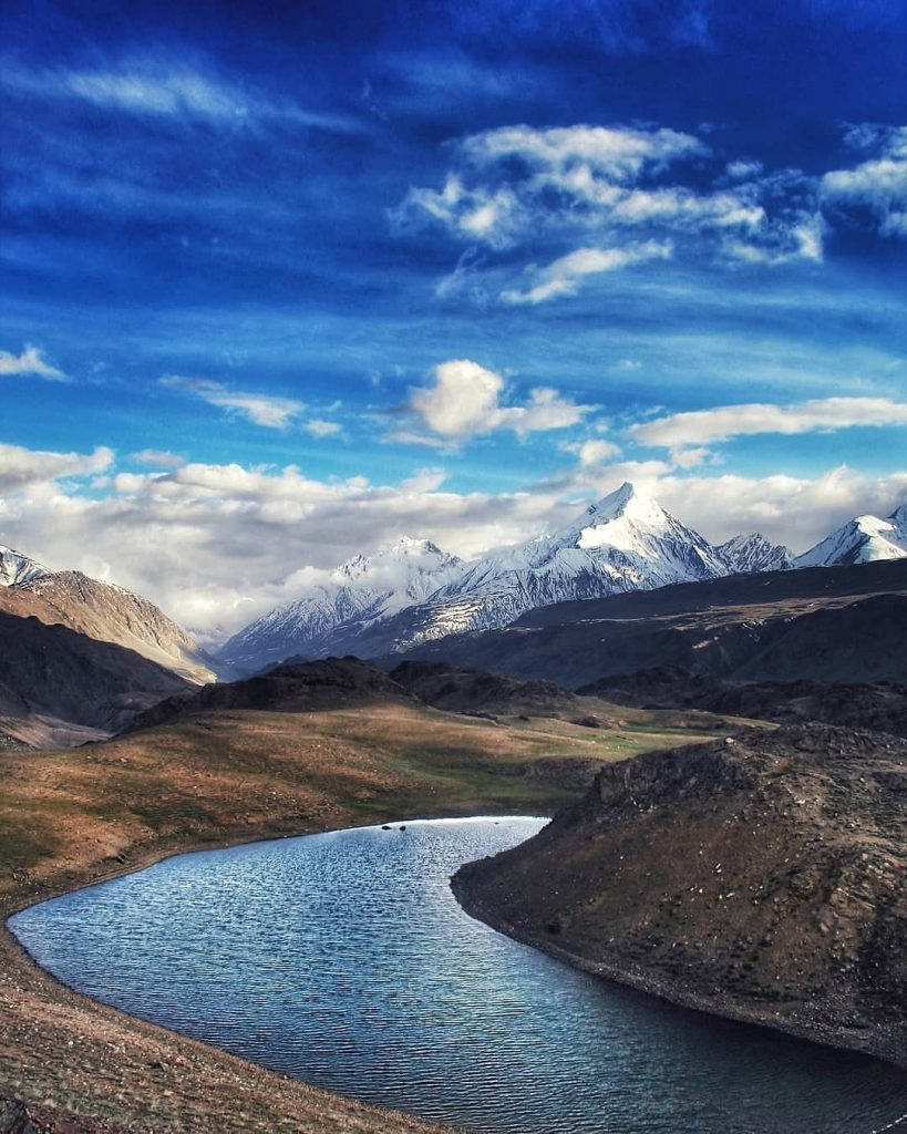 Chandra Tal Lake in Spiti Valley