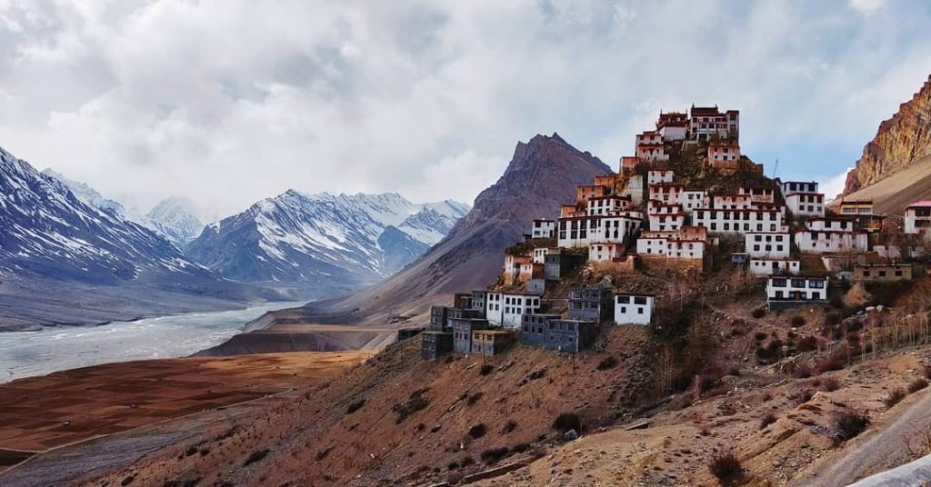 Key Monastery by the Spiti River