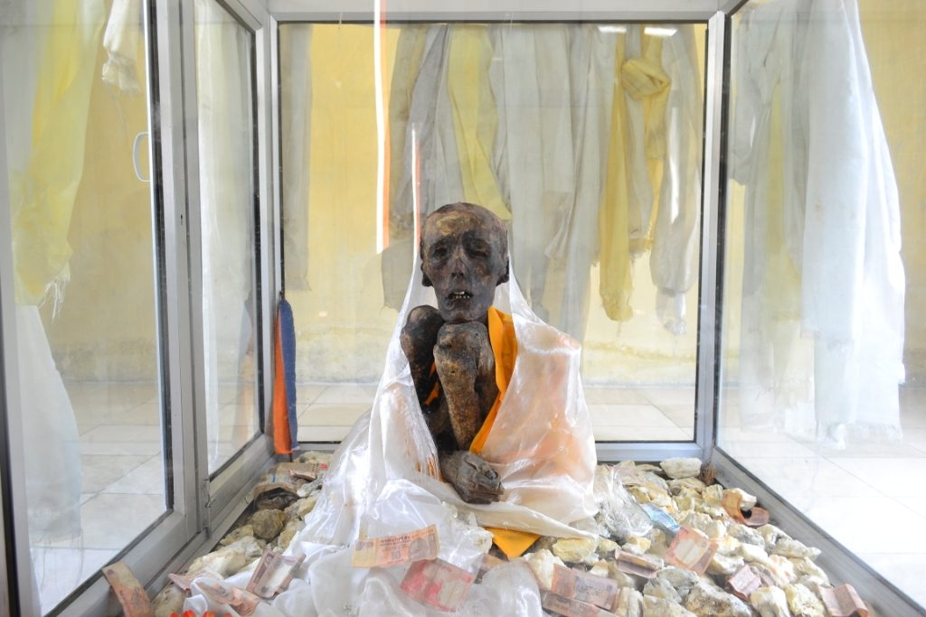 Mummy of Giu in Spiti