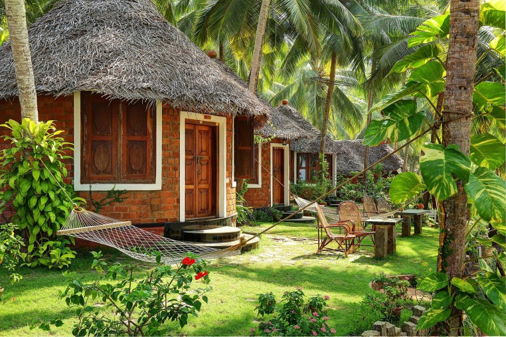One of the Ayurveda villas of Somatheeram Ayurveda Kerala