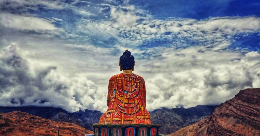 Sitting Buddha of Spiti Valley