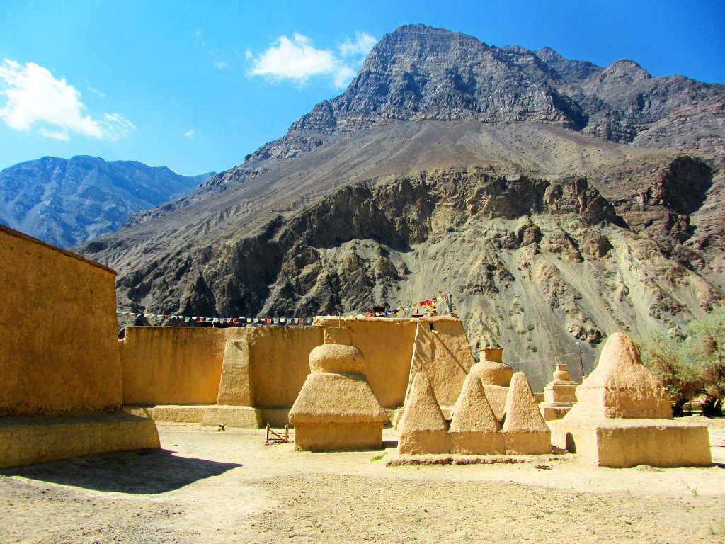 Stupas in the Tabo Monastery