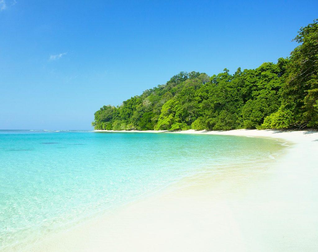 Playa paradisíaca en las islas Andamán