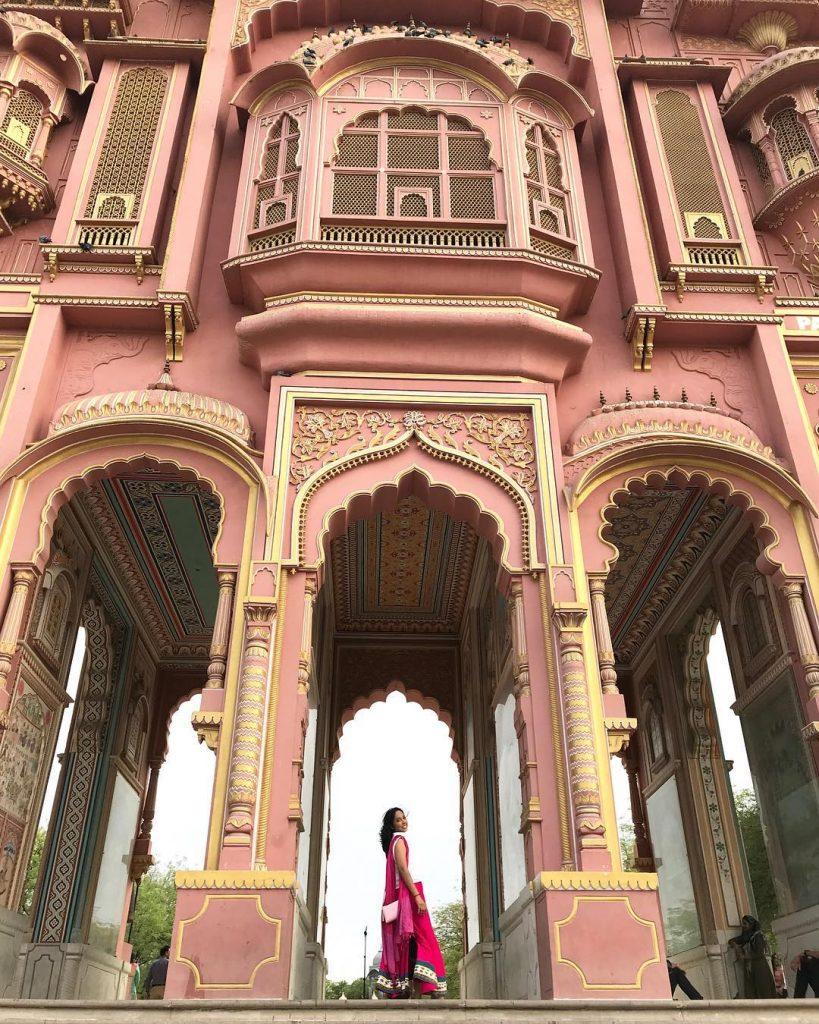 Patrika Gate in Jawahal Gate