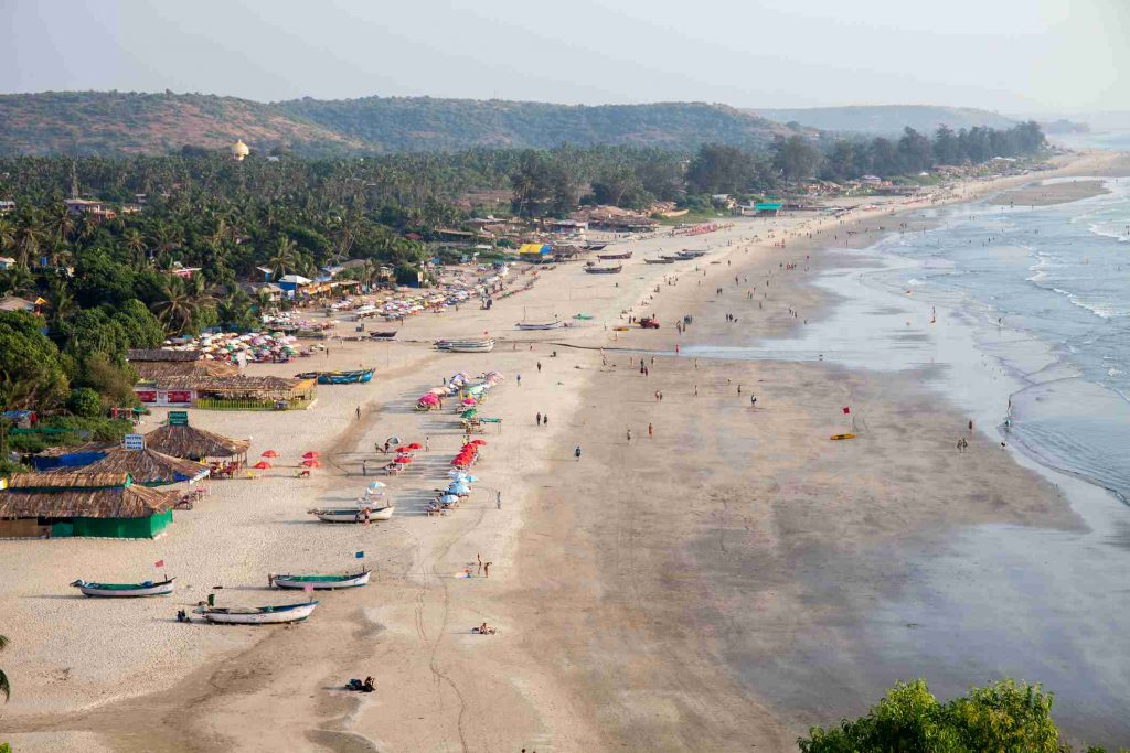 The best beach in Goa