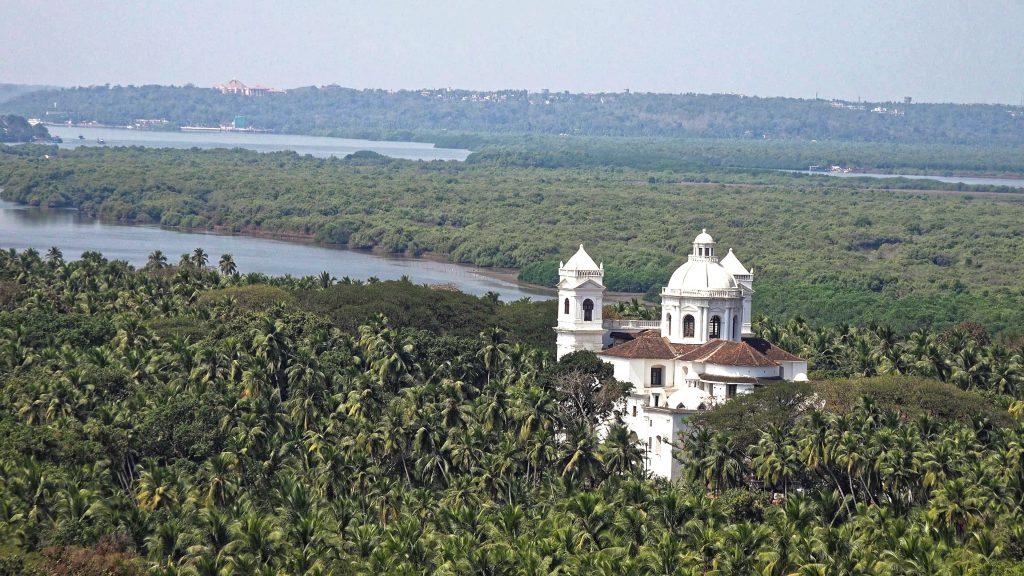 Iglesias portuguesas en el estado de Goa