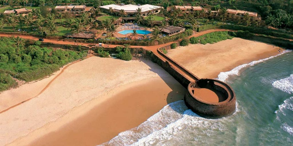 Resort near Fort Aguada in Goa