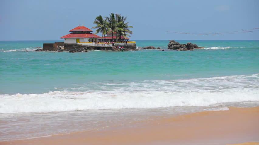 Seenigama Devalaya en Sri Lanka