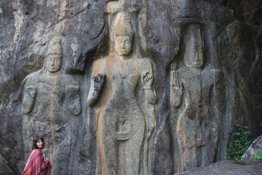 Lugares desconocidos de Sri Lanka y Buduruwagala Temple