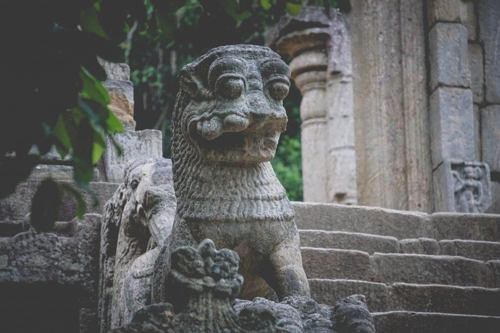 Yapahuwa en Sri Lanka