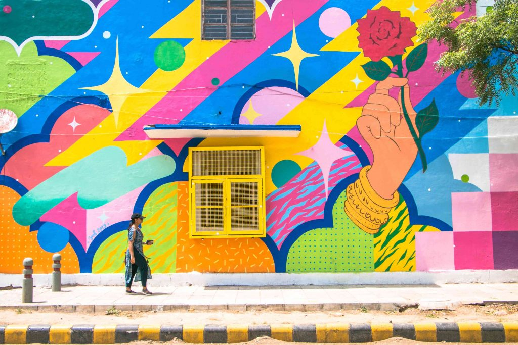 Urban art in India