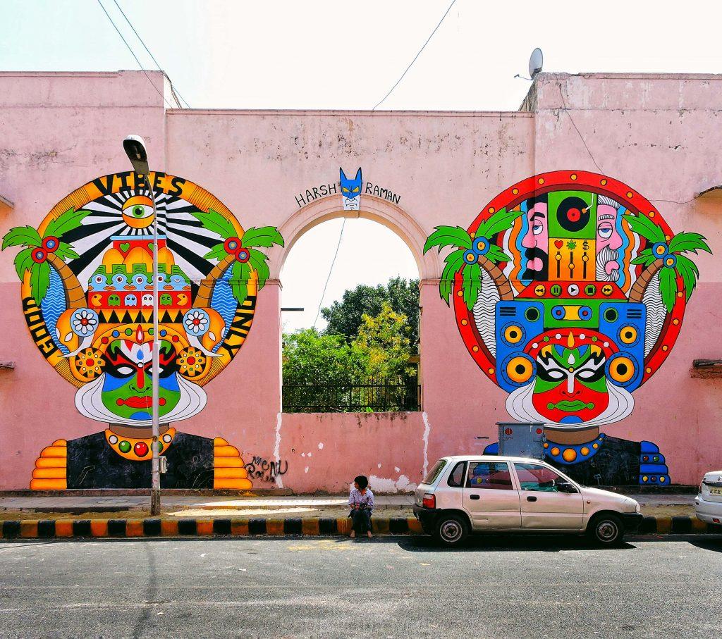 Arte urbano en India