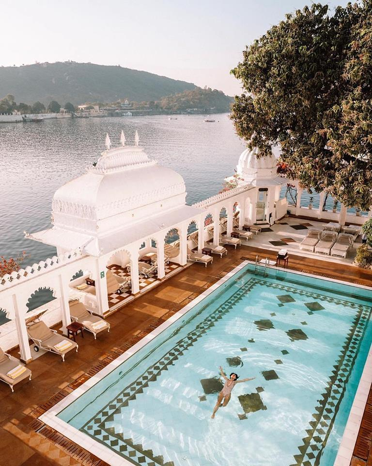 Piscina del Taj Lake Palace