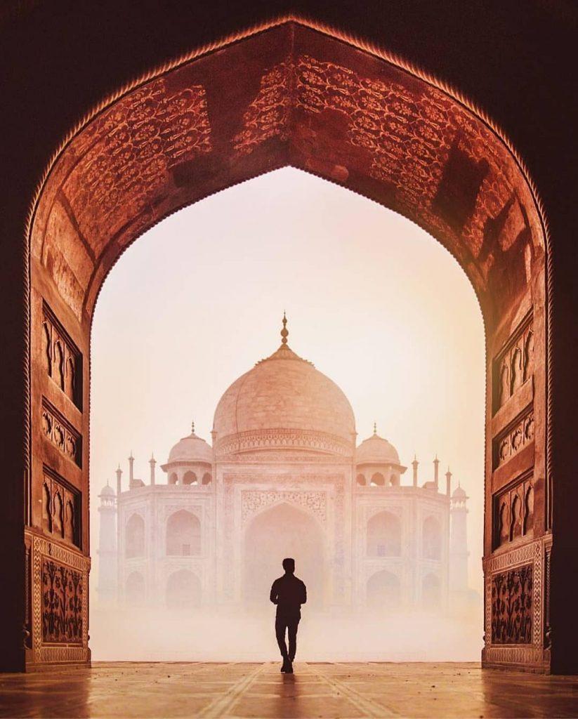 Photography in the Taj Mahal