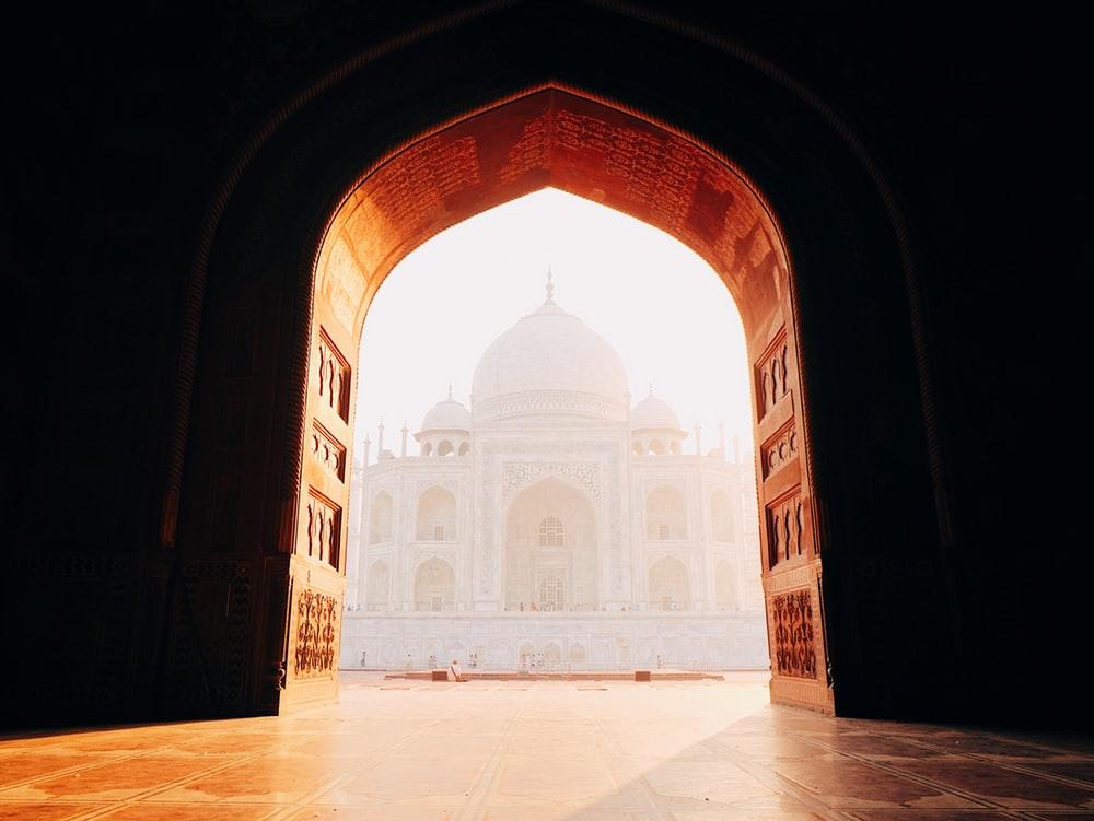 Umbral del Taj Mahal