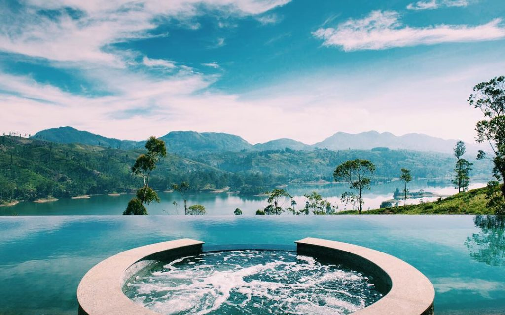 Infinity pool de Ceylon Tea Trails