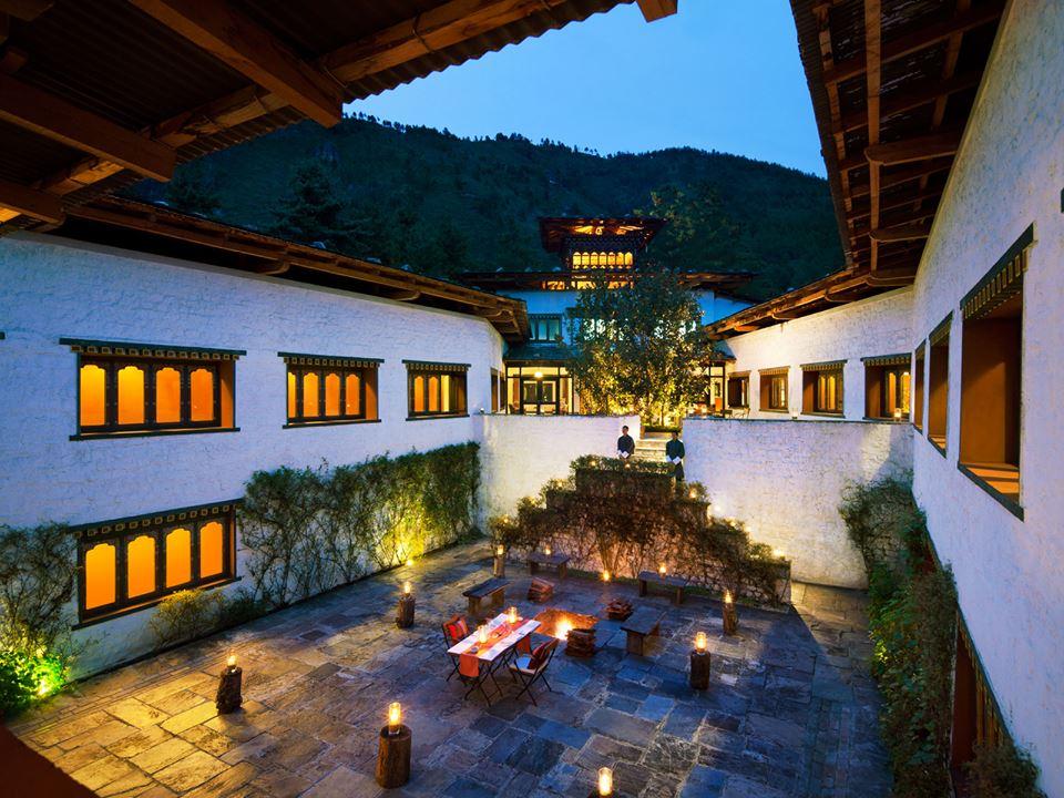 Hoteles de Bután