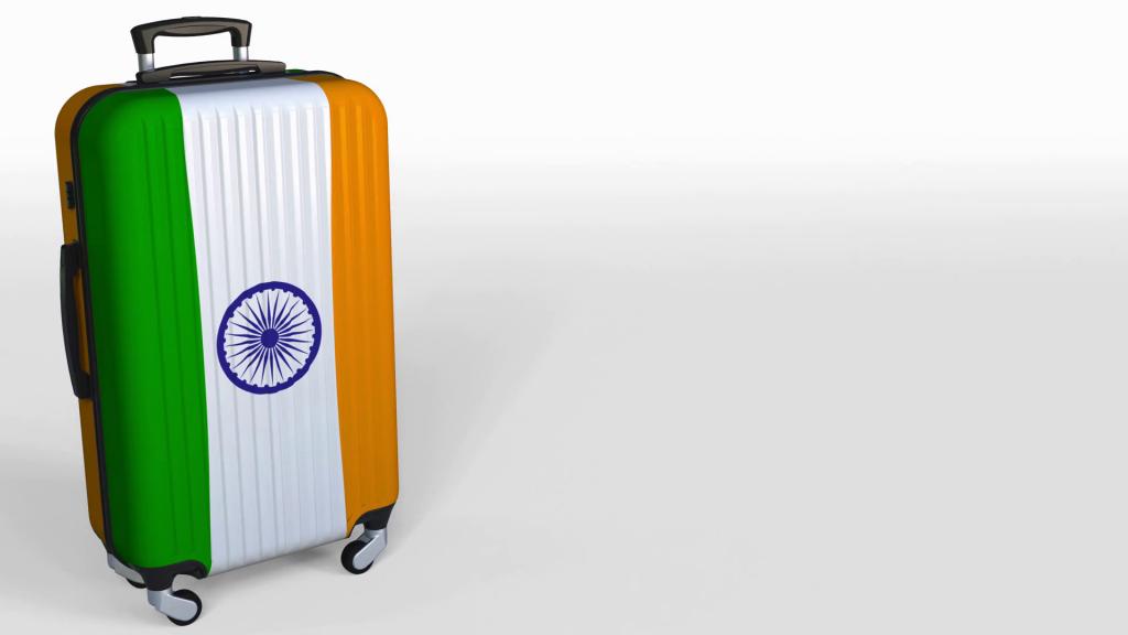 Maleta y objetos prohibidos en India