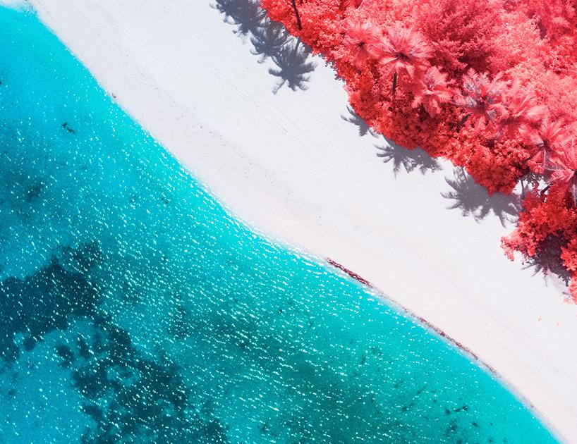 Maldivas infrarroja