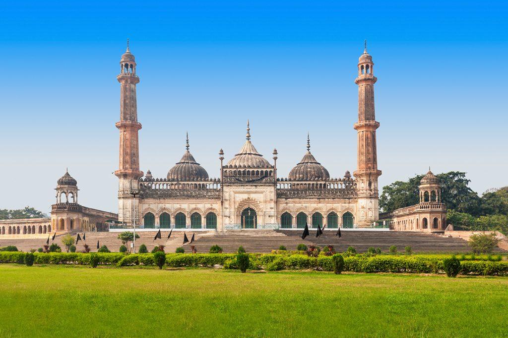 Monumentos de Lucknow en India