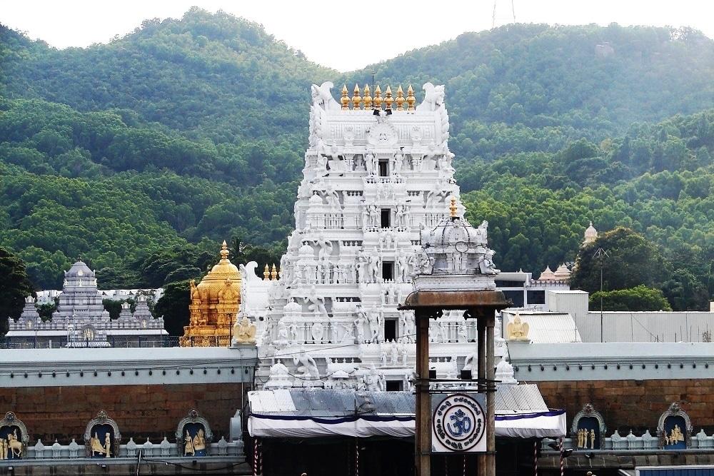 Templo del pelo en India