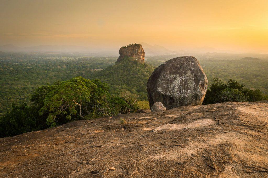 Vistas de Pidurangala Rock