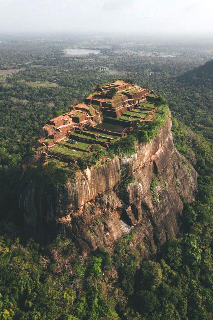 Palacio Superior de Sigiriya