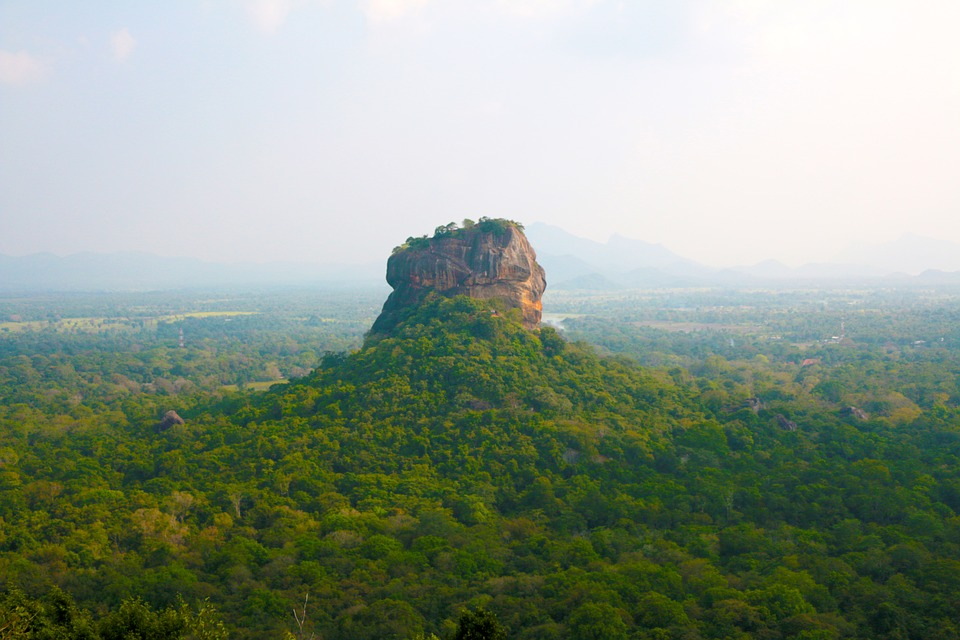 Sigiriya en Sri Lanka
