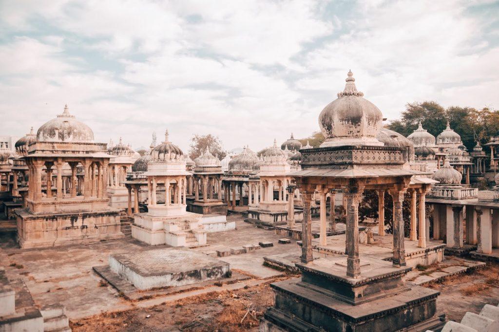 Chhatris de Rajastán