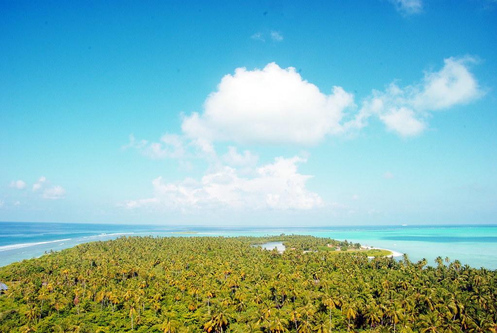 Isla de Bangaram en Laquedivas