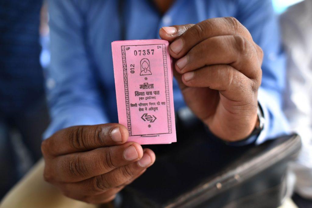Tickets rosa en Nueva Delhi