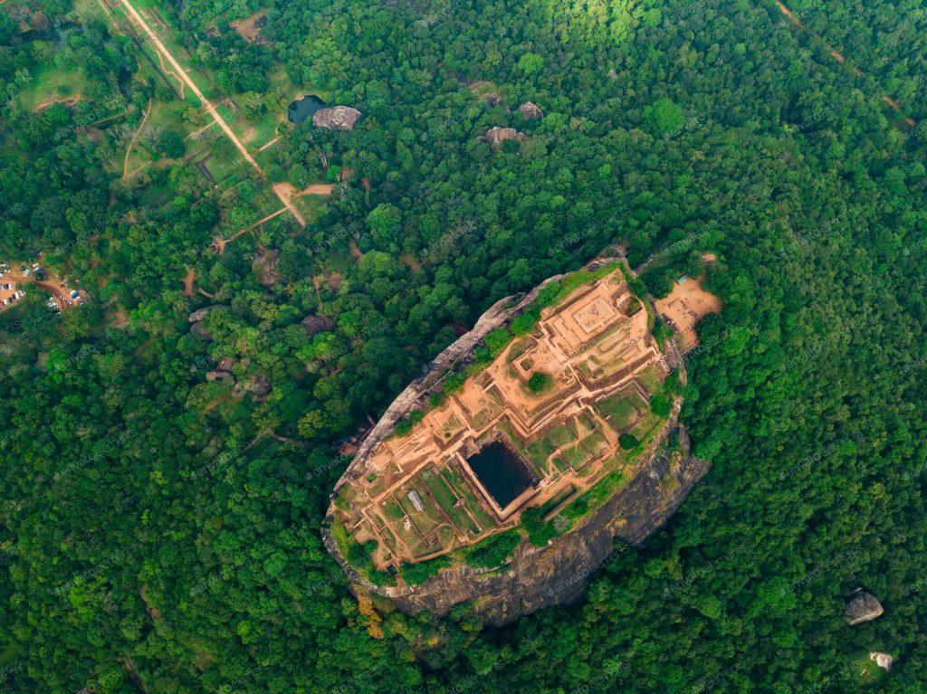 Dron en Sri Lanka