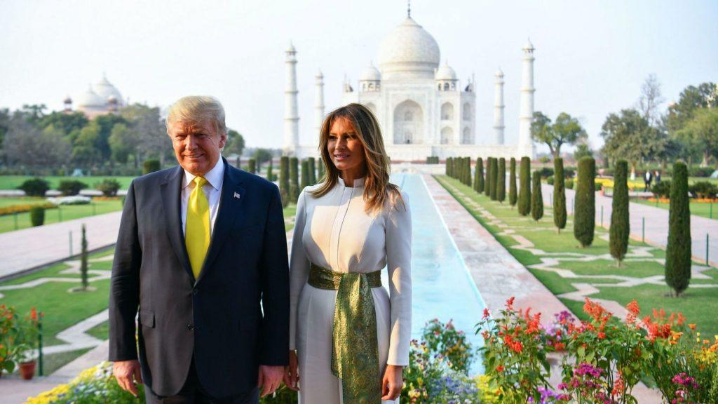 Donald Trump en India