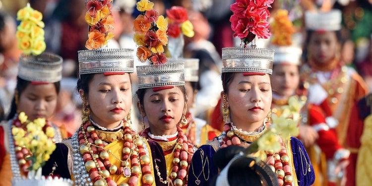 Mujeres khasi de India